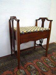 Art Nouveau Mahogany Piano Stool & 144 best Piano Stools images on Pinterest | Piano stool Stools ... islam-shia.org