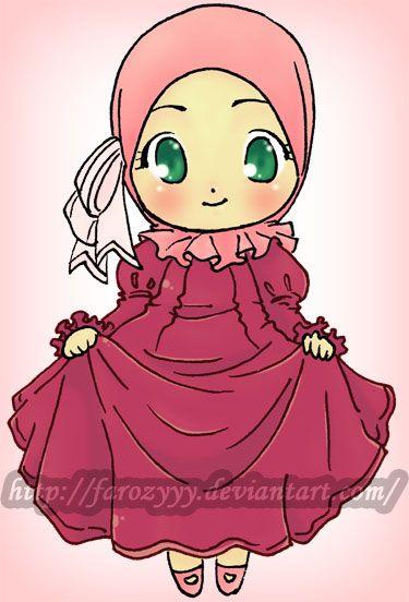 Chibi+Hijab+Cuteness