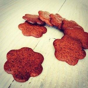 Pas op! Deze koekjes zijn verslavend lekker. Dus maak er niet te veel, zo kun je buikpijn voorkomen Zonder gekheid, ik had nooit gedacht dat dit koekjes probeersel zo lekker zou worden. Heerlijk krokant en zo'n rijke en zoete cacaosmaak door de grasboter en rijststroop. Je kunt ze met gemak een weekje bewaren in een …