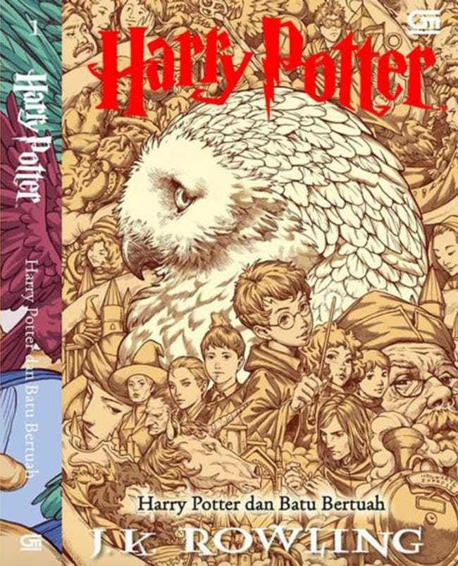 Harry Potter Book Covers From Asia Cooler Than Any Talking Portrait Harry Potter Book Covers Hogwarts Harry Potter
