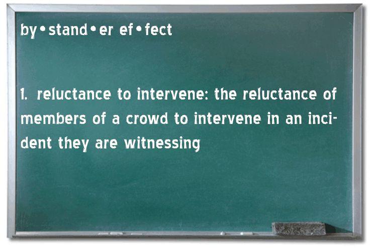 Bystander Effect - Reluctance to Intervene - Bubblews