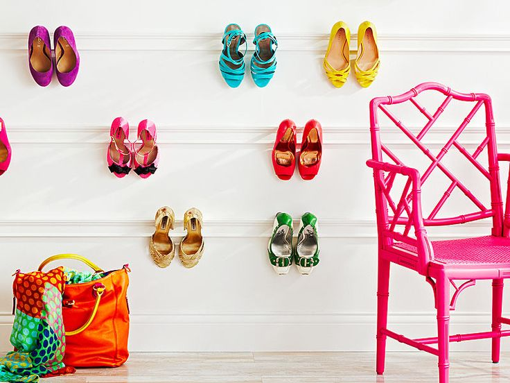 Seven organization solutions for clutter, from shoes to cabinets.