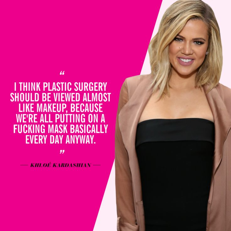 Celebrity Quotes on Plastic Surgery and ... - POPSUGAR Beauty
