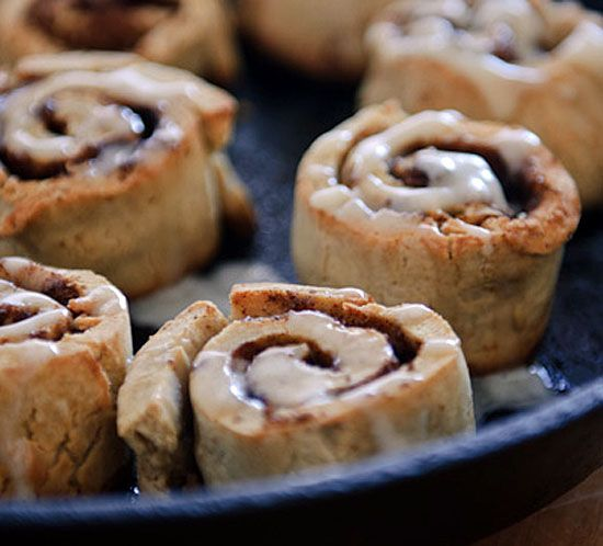 healthy green kitchen cinnamon rolls