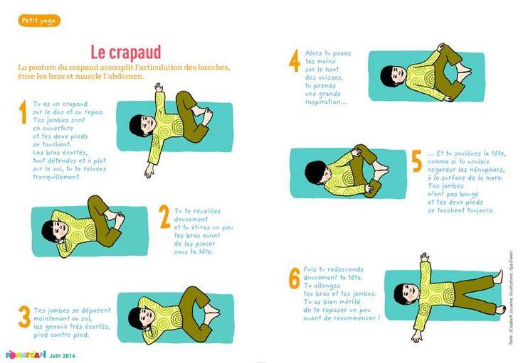 Yoga bébé / Baby gym Sport activité avec les enfants Relaxation méditation