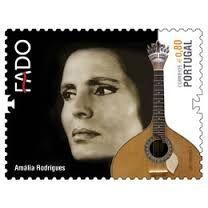 Amália Rodrigues (fadista) . Selo CTT