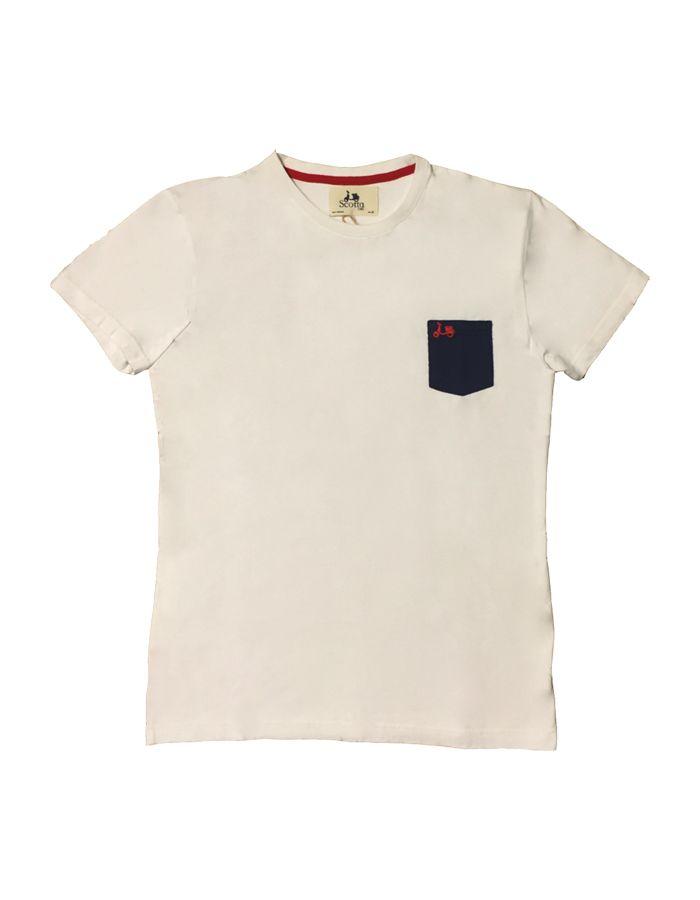 Scotta Básica 1985 De Motivo Algodón Casco Camiseta 6fq0wUf