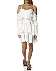 SASS BOHO BABE WOMENS DRESS - OFF WHITE on http://www.surfstitch.com