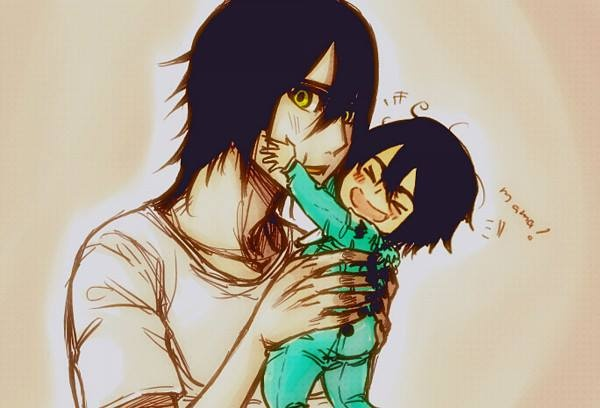 Ulquiorra and baby <3
