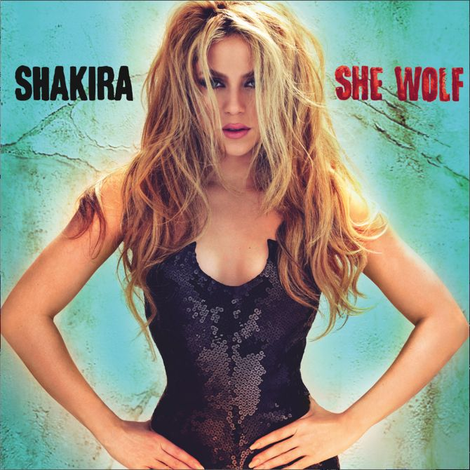 album covers | ... She Wolf: Album Title and Artwork Revealed! » Shakira Album Cover