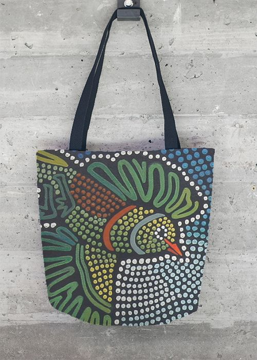 View Tote Bag - Dreamtime Shopping - #IanAndersonFineArt #FeastFashion #Vida