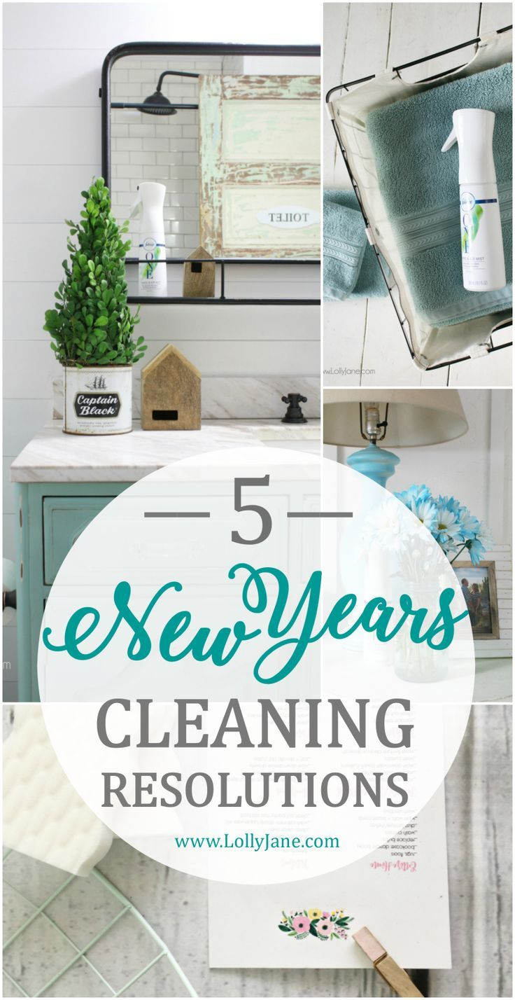 New Year Cleaning Tips