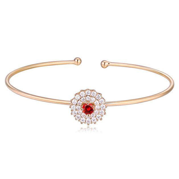 Серебряные ювелирные изделия AAA циркон браслет подсолнечника браслет на продажу 18 К позолоченный браслет для свадьбы-Браслеты-ID товара::60267799069-russian.alibaba.com