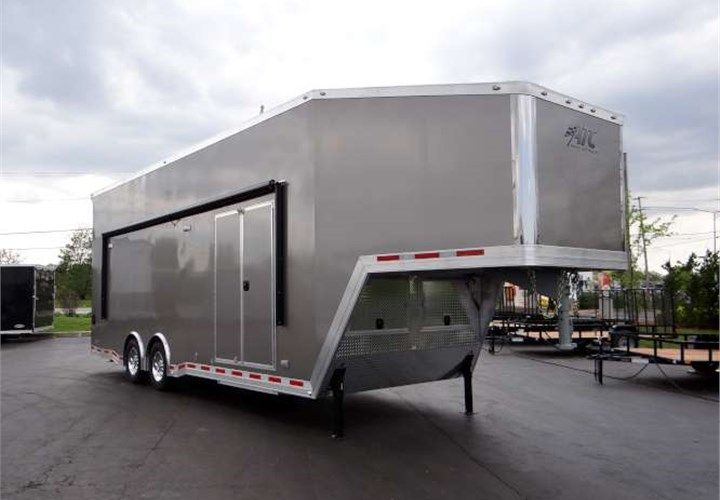 34 Pewter Custom Stacker Trailer This Trailer Features 10