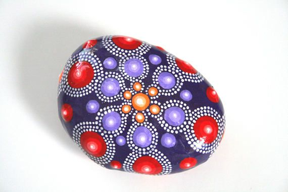 Purple Red Hippie Boho Mandala Stone Home Decor Oftentimes, my color inspiration comes from the Windows Media Player skins that come up on my laptop screen while listening to my favorite music! They also come to me while out walking my dog and from other décor inspirations I