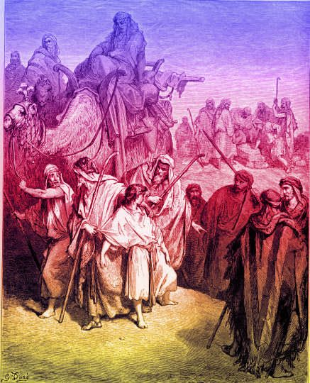 Joseph Is Sold by His Brothers - Genesis 37