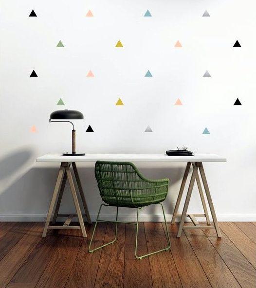 Home inspiration habiller ses murs sticker deco interieur mur design
