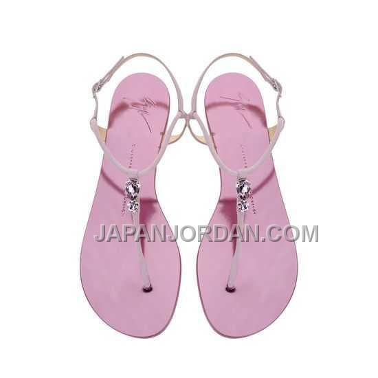 http://www.japanjordan.com/giuseppe-zanotti-womens-crystal-flat-sandals-light-purple-leather-10mm.html GIUSEPPE ZANOTTI WOMENS CRYSTAL FLAT SANDALS LIGHT 紫 LEATHER 10MM オンライン Only ¥13,963 , Free Shipping!