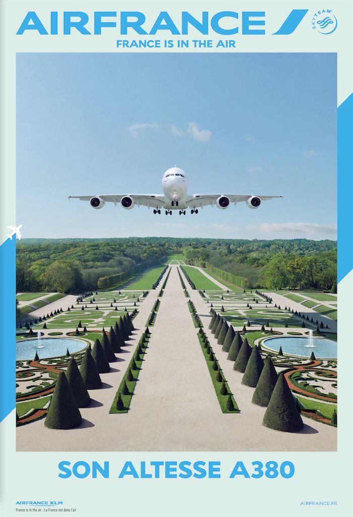 New Air france campaign Air France EXAMPLE.PL