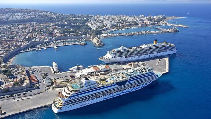 #Rhodes Port Airview!!! The Island is sinking from your love!!!  #Rodos #Greece