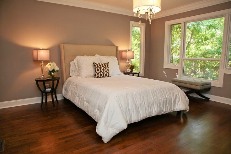 Quilt Ideas For Master Bedroom : FUNCTIONAL GRAY - Google Search New House Pinterest White quilt bedding, Master bedroom ...