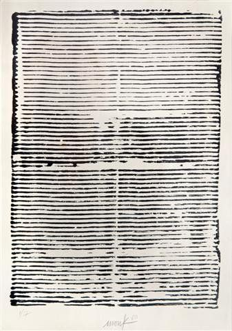 Text on Nothingness, 1960 by Heinz Mack