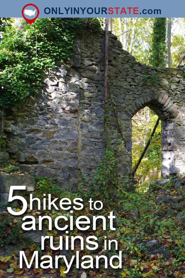 Maryland Map Coordinates%0A These   Hikes In Maryland Will Lead You To Extraordinary Ruins