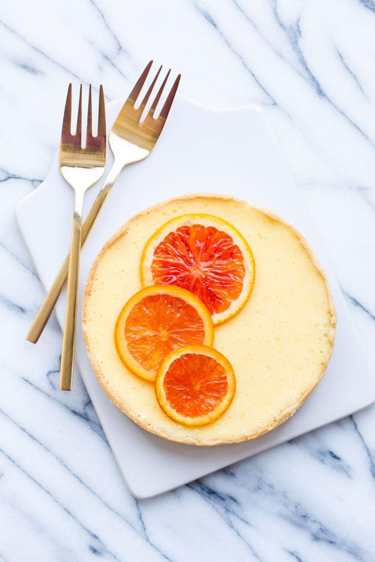 Orange Blossom Almond Cream Tart