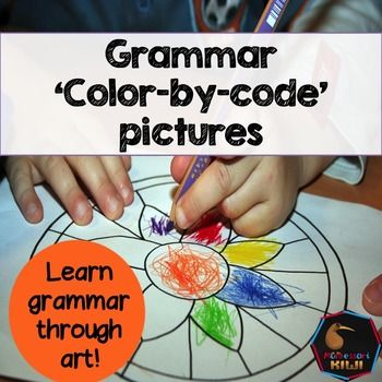 These parts of speech coloring in page activities have been designed with the reluctant literacy student in mind. Students color in the noun, verb, pronoun and so on to reveal a picture! This activity is ideal for students who are more creative than academically minded!