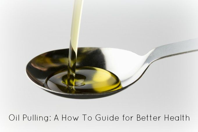 oil pulling can help prevent or shorten a cold or flu! I'm so trying this!!