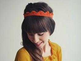 Tutoriel DIY: Réaliser une couronne au crochet via DaWanda.com
