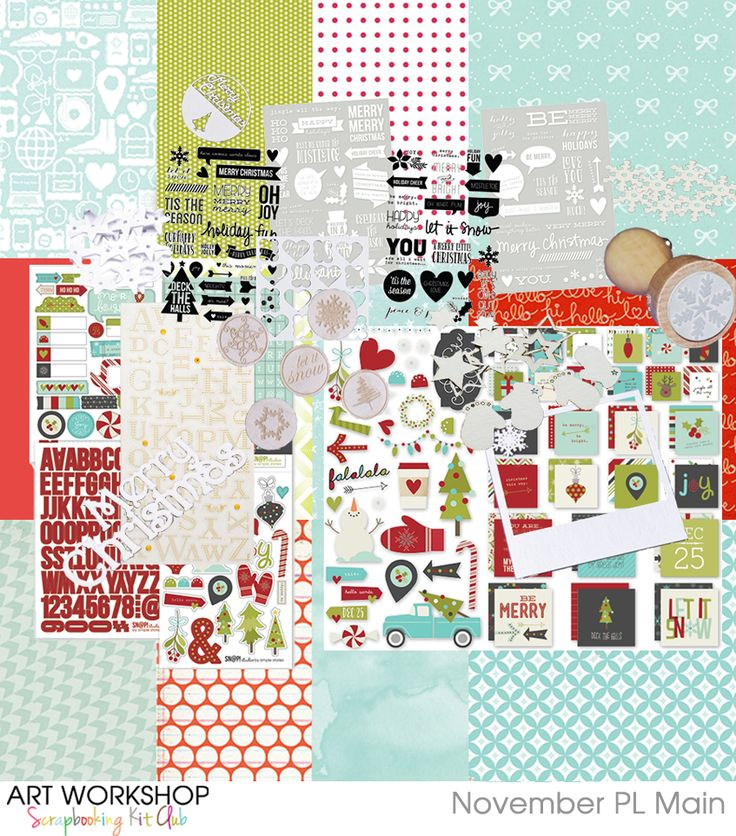 Art Workshop Kit Club - November 2014 Pocket Life Kit