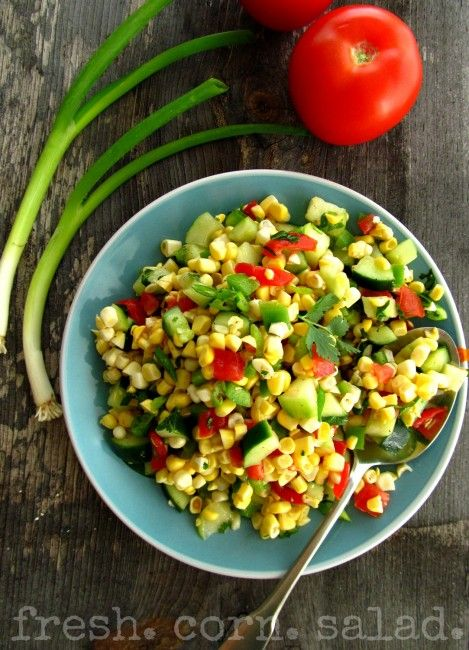 Fresh Corn Salad | In the Kitchen | Pinterest