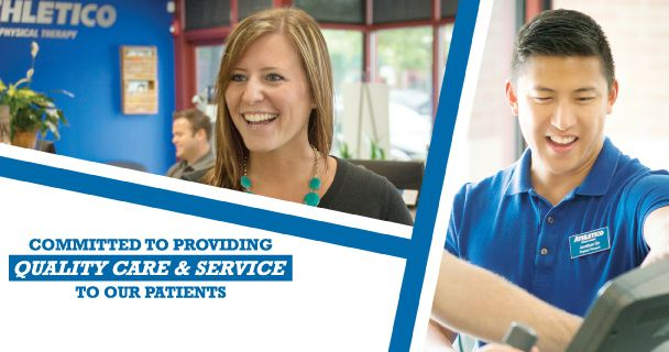 Athletico Physical Therapy, Occupational Therapy, Sports Medicine is Chicagoland's specialists in the field of physical therapy, orthopedic rehabilitation, sports medicine, athletic training and fitness services.