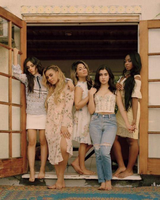 Fifth Harmony for Wonderland Magazine