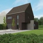 Een woning metstrak ontwerp in minimalistische stijl | Bouwbedrijf Stessens