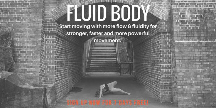 GET A FLUID BODY  Improve your tissue health, flexibility, mobility, prevent injury and move with more fluidity.  Learn effective soft tissue techniques, active stretching, full-range strengthening and self-mobilisations  Suitable for all levels of mobility. You can join no matter how stiff or supple you are.   Go to https://michelledrielsma.com/register/fluid-body/