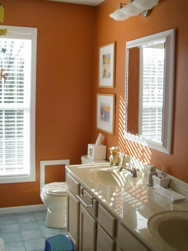 Best Burnt Orange Bathrooms Ideas On Pinterest Orange