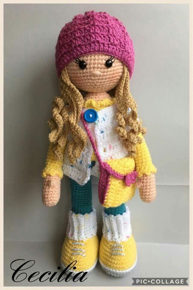 Amigurumi Doll How To : Arcoiris amigurumis pinterest bonecas de croch�