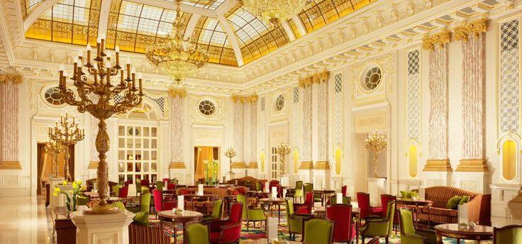 Fairmont Grand Hotel Kyiv, The Atrium Lounge & Pâtisserie