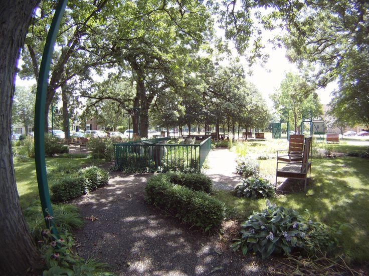 Beloit Poetry Garden