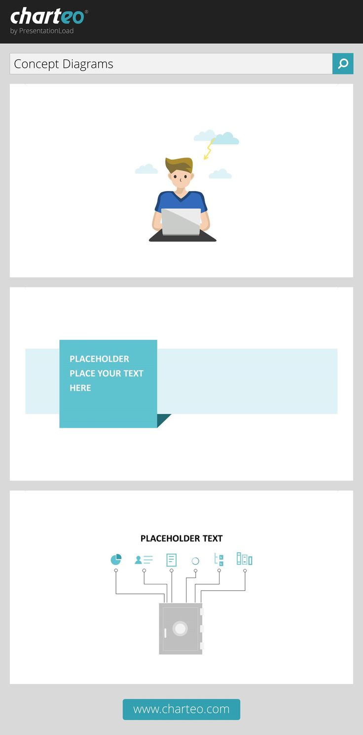 Try our PowerPoint concept diagrams to illustrate your presentation.