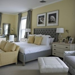 28 Best Images About Grey Yellow Bedroom On Pinterest