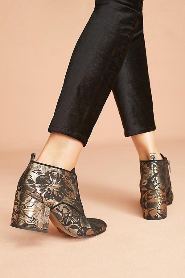 Slide View: 4: Sarto by Franco Sarto Alfie Brocade Ankle Boots
