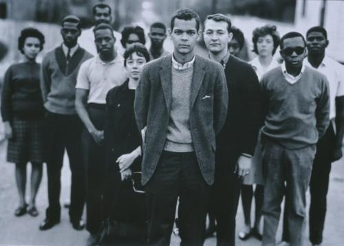 Richard Avedon, Julian Bond and members Of The Student Nonviolent Coordinating Committee (SNCC), 1963  — at Atlanta, Georgia.