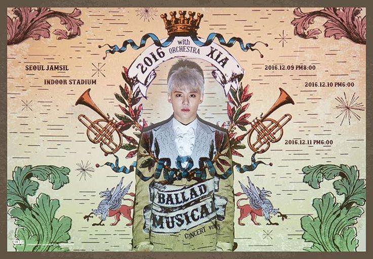 김준수 - 2016 XIA Ballad & Musical Concert with Orchestra vol.5 (출처 : C-JeS Entertainment | 네이버 TV캐스트)