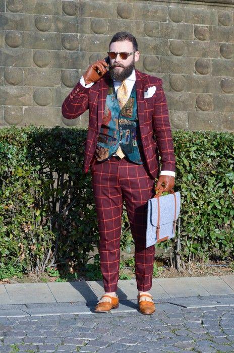 takablotaro:  Street style Pitti Uomo 87 – Powered by Louis Purple – Ziua 3 - Stil Masculin .ro