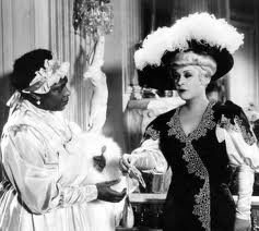 Some of the film's merriest scenes show Tira and her five black maids having a ball dancing and singing as she prepares for her dates with Jack. (Mae West made it her business to keep as many of her black girlfriends working in movies as possible.)  #burlesque #film #history #MaeWest Check out our #NeoBurlesque #documentary #BurlesqueAReemergence #burlesquemovie