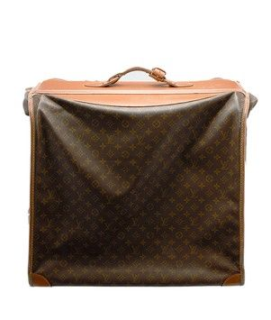 Louis Vuitton Vintage Monogram Coated Canvas Large Luggage Suitcase (25597). Get the lowest price on Louis Vuitton Vintage Monogram Coated Canvas Large Luggage Suitcase (25597) and other fabulous designer clothing and accessories! Shop Tradesy now