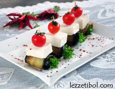 Peynirli Patlıcan Sarma